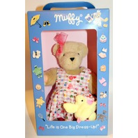 Muffy Vanderbear Spring Outing Derss Up Set Chick Purse Pink Gingham Outfit