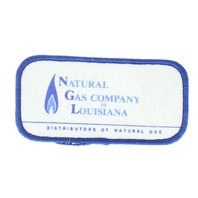 Natural Gas Company of Louisiana Blue and White Uniform Patch