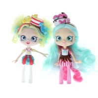 Shopkins Shoppies Dolls Popettes Popcorn Ice Cream Sunday Lot