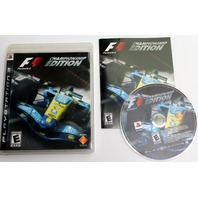 Formula One Championship Edition Indy F1 Racing PlayStation 3 PS3 Video Game
