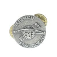 Royal Rangers Rr Wrangler Tribesman Hat Lapel Pin International
