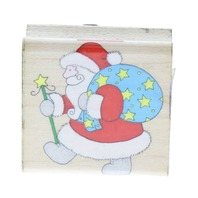 Hero Arts Star Sack Santa Claus Holiday Winter Themed Rubber Stamp