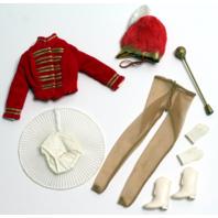 Vintage Barbie Midge #875 Drum Majorette 1964 Near Mint Condition Outfit Set
