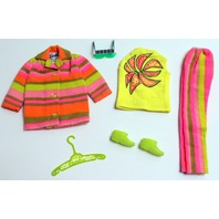 Vintage Barbie Trail Blazers Mod Rare Outfit with Green Glasses Minty Nice