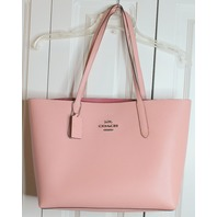 Coach Large Tote Bag Handbag in Soft Pale Pink Purse