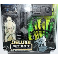 Hasbro Star Wars Delux SnowTrooper Power of the Force Heavy Repeating Blaster