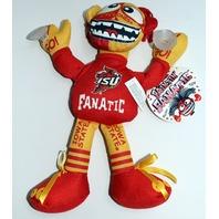 "Iowa State Cyclones ISU Fanatic Toy 11"" Window Cling Stuffed Animal"