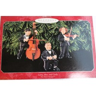 Hallmark Keepsake Ornament The Three Stooges Larry Moe and Curly Comedy Set