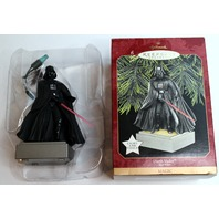 Hallmark Keepsake Ornament Darth Vader Light and Voice Star Wars Magic Ornament