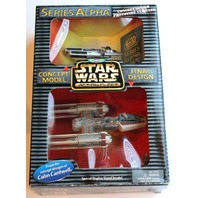 Vintage NIB Star Wars Micro Machines 73420 Series Alpha Y-Wing Starfighter NEW