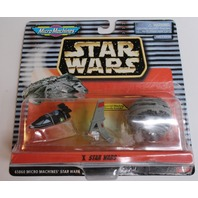 Star Wars Micro Machines Vehicles X Death Star II Skyhopper Landspeeder New