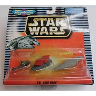 Star Wars Micro Machines Vehicles Star Cruiser Jabbas Sail Barge Speeder Bike