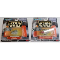 Star Wars Micro Machines Vehicles Snowspeeder A-Wing Starfighter