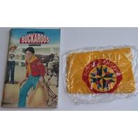 Collectible Buckaroo Royal Rangers Handbook and Neck Kerchief unused