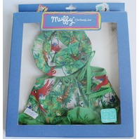 Muffy Vanderbear Rainforest Dress and Hat Outfit Set in Package