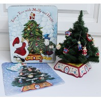 Muffy Vanderbear Trim a Tree Decorated Accessory Set in Package Tin Box