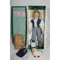 "15"" Dianna Effner Little Boy Blue Porcelain Doll Mother Goose By Knowles"