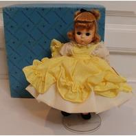 Madame Alexander Alexanderkins Little Women Amy in Yellow Dress with Box