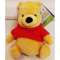 "Gund Walt Disney Winnie the Pooh Bear Toy Plush Stuffed Animal Plush 8"""