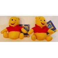 "Gund Walt Disney Winnie the Pooh Toy Plush Stuffed Animal 100 Acre Collection 5"""
