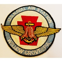 United States Willow Grove Pa US Naval Air Station 1950's Uniform Patch