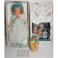 """Darling Tagged 1986 Anili Scavini, Kate 15"""" Lenci """"Spring"""" Felt Doll"""