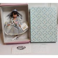 Vtg Madame Alexander Cissette Doll Dream Dance Blue 26180 Swiss Dotted in Box