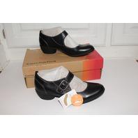 Comfortiva Sz 9.5 M NIB Black Leather Heels Shoes Pumps Womens