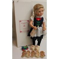 """Julie Good Kruger Doll in original Box 21"""" Work Clothes Cinderella Little Ones"""