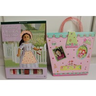 American Girl Felicity Fashion Studio and Friends Forever Sticker Memory Book