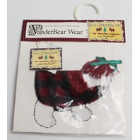 Muffy Vanderbear Dog  LuLu McFluff Costume All Spruced Up Adirondack Collection