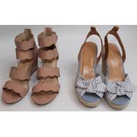 Womens Wedge Shoe Lot Sz 6/6.5 New Nautica Qupid