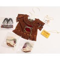 Muffy Vanderbear Pocahoppy Dress Headdress Set in Package