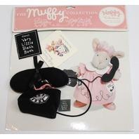 Muffy Vanderbear Vanderhare Little Black Book Telephone Set in Package