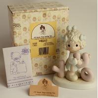 Precious Moments Figurine in Original Box I'll Never Stop Loving You Little Girl
