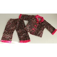 """18"""" Doll Sized Our Generation Leopard Pajamas PJs Outfit Set"""