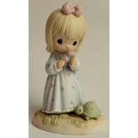 Precious Moments Figurine The Lord can Dew Anything