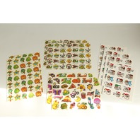Lot of Vintage Collectible Teacher Stickers Great Job Nice Good  Work
