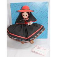 Vtg Peru 556 Madame Alexander doll with Original Outfit Spoon Dress Hat