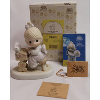Precious Moments Figurine You are the Type I Love PM Typewriter Writer with Box
