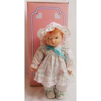 Effanbee Baby to Love Ensemble Grumpy Face Heart Dress in Original Box New