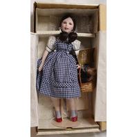 Judy Garlin as Dorothy Franklin Heirloom Dolls with Toto in Basket MIB New