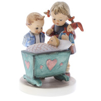 Goebel Hummel Blessed Event TMK 6 Brother and Sister with Newborn