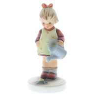 Goebel Hummel Surprise Little Gardener Girl #74 TMK 5 porcelain