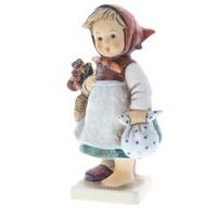 Goebel Hummel Weary Wanderer #204 TMK 6 porcelain Girl Without Her Shoe
