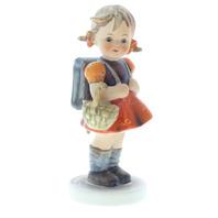 Goebel Hummel #81/0 TMK 5 Porcelain School Girl Figurine with Backpack