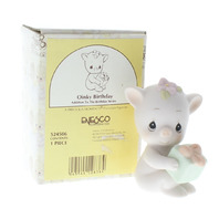 Precious Moments Figurine Oinky Birthday Piglet with Box PM
