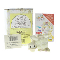 Precious Moments Figurine My World is Upside Down without You with Box PM