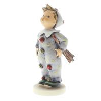 Goebel Hummel #328 TMK 6 Porcelain Carnival Boy Figurine in Jester Costume