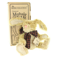 Boyds Collection Dolly Q Bunnycombe original box Mohair Bear Limited Edition